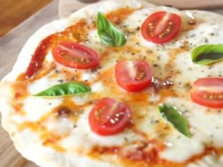 Receta de pizza frita