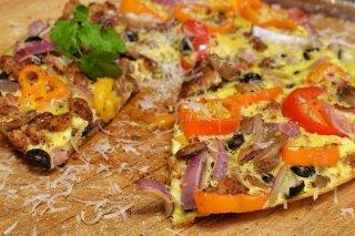 Receta de pizza frittata