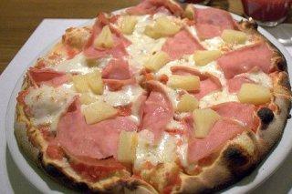 Receta de pizza hawaiana