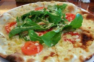 Receta de pizza sin queso