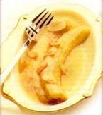 Receta de plátanos en salsa de ron y mantequilla