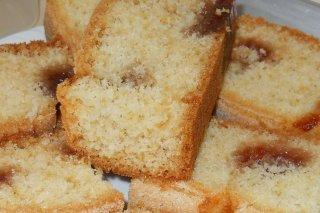 Receta de plum cake con manzana y nueces