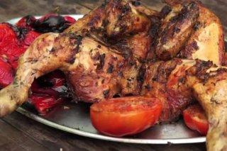 Receta de pollo a la barbacoa