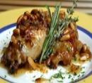 Receta de pollo a la miel con frutos secos