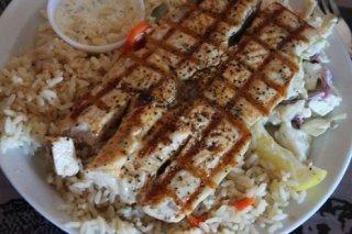 Receta de pollo a la plancha con arroz
