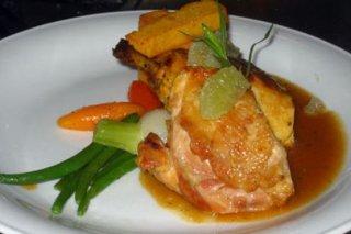 Receta de pollo al azafrán