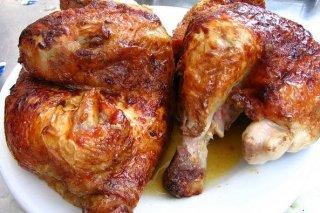 Receta de pollo asado a la cerveza