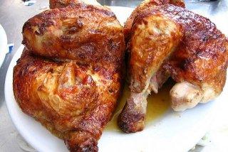 Receta de pollo asado al horno