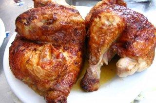 Receta de pollo asado casero con especias