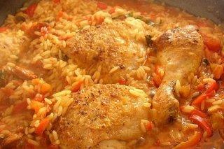 Receta de pollo campero con arroz