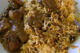 Receta de pollo con champiñones y arroz