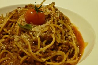 Receta de pollo con espagueti