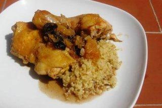 Receta de pollo con olivas y limón en salmuera
