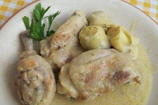 Receta de pollo con salsa de coco