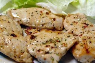 Receta de pollo con salsa de nueces