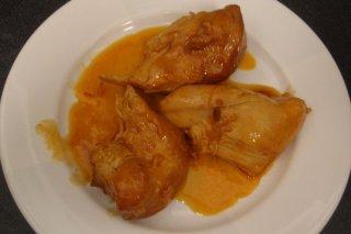 Receta de pollo con salsa picante