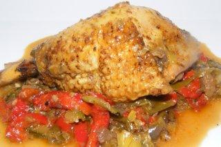 Receta de pollo cajún