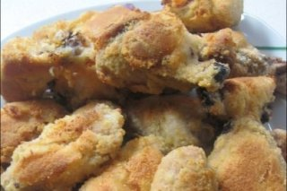 Receta de pollo empanado con coco