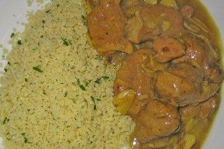 Receta de pollo en salsa con couscous