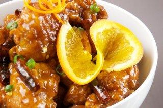 Receta de pollo en salsa de naranja