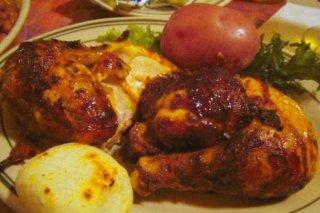 Receta de pollo en salsa de tomate y refresco de cola