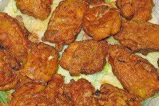 Receta de pollo frito estilo americano