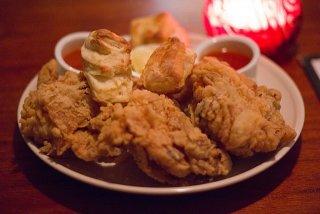 Receta de pollo frito picante