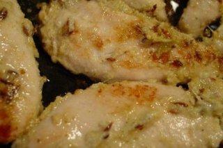 Receta de pollo marinado