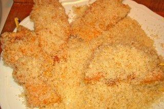 Receta de pollo rebozado crujiente