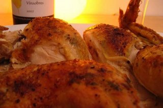 Receta de pollo rostizado
