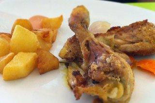 Receta de pollo troceado al horno al tío juan