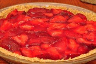 Receta de postre de fresa