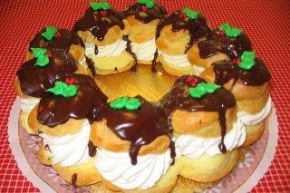 Receta de buñuelos de nata y chocolate