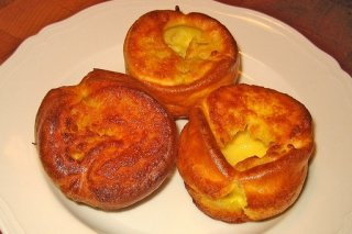Receta de pudding de yorkshire