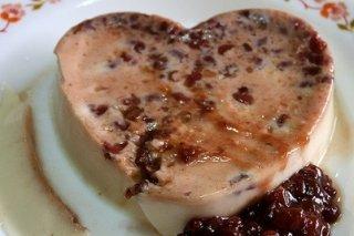 Receta de pudin de higos y queso fresco
