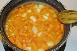 Receta de puré de patatas y peras