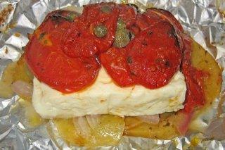 Receta de queso feta al horno