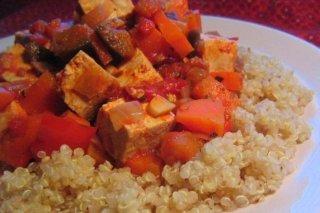 Receta de quinoa con atún y verduras
