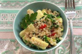 Receta de quinoa con verduras