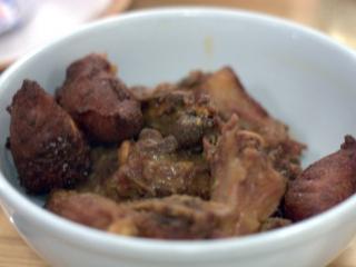 Receta de rabo de cerdo frito