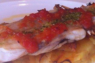 Receta de rape con salsa de tomate