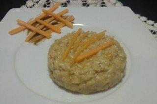 Receta de risotto con calabaza