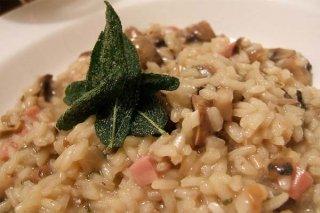 Receta de risotto con carne