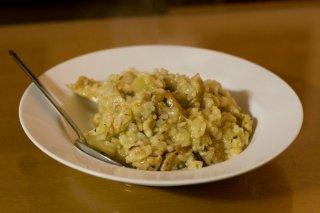 Receta de risotto con pollo