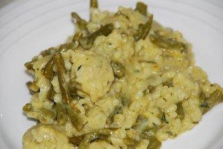 Receta de risotto de espárragos y alcachofas