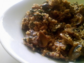 Receta de risotto de quinoa