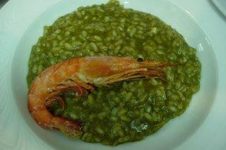 Receta de risotto verde