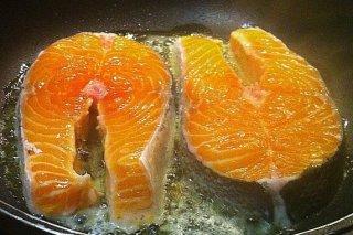 Receta de rodajas de salmón
