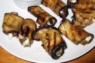 Receta de rollitos de berenjenas