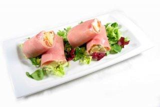 Receta de rollitos de jamón y sardinas